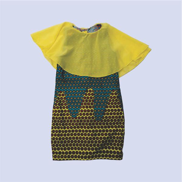 Zucchini_High_Low_Cape _Dress