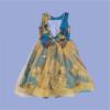Zucchini_VBack_Pearl_Dress_Yellow_Net_1