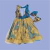 Zucchini_VBack_Pearl_Dress_Yellow_Net_2