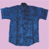 Ad're Patterned Shirt (Blue)