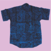 Ad're Patterned Shirt (Blue)_1