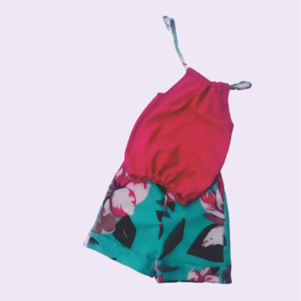 Pink Suntop & Shorts_1