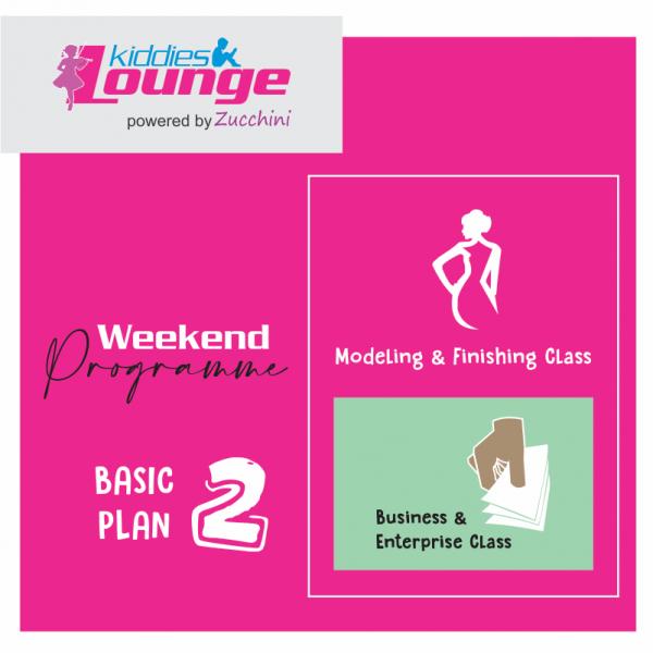 Zucchini Lounge Weekend Programme Basic 2