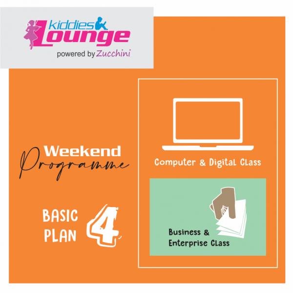 Zucchini Lounge Weekend Programme Basic 4